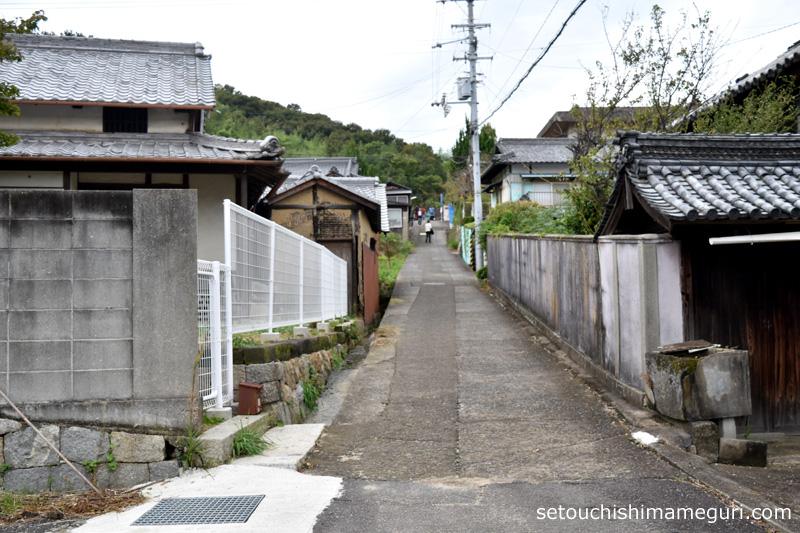 粟島の集落