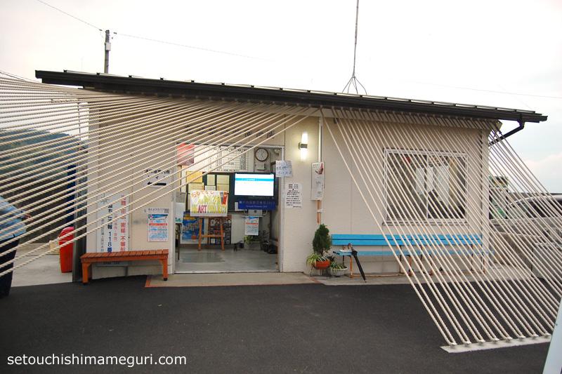 粟島【須田港待合所プロジェクト「みなとのロープハウス」】山田妙子