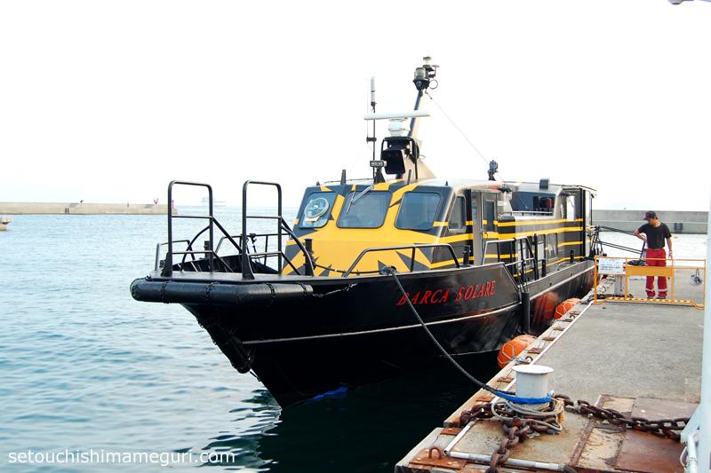 小豆島 BARCA SOLARE号(太陽の船)