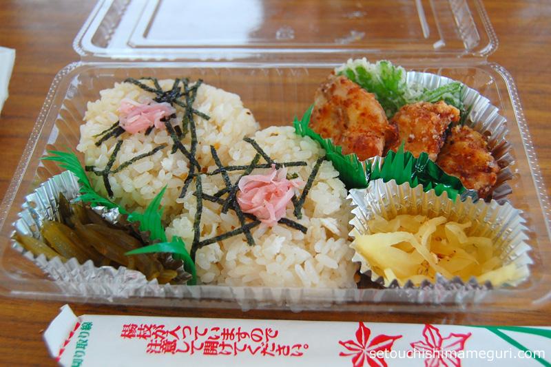 沙弥島 ふぐ弁当