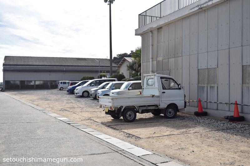 宝伝港 駐車場