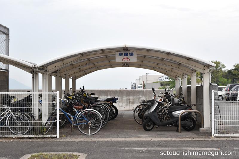 ジャンボフェリー高松乗り場 駐輪場