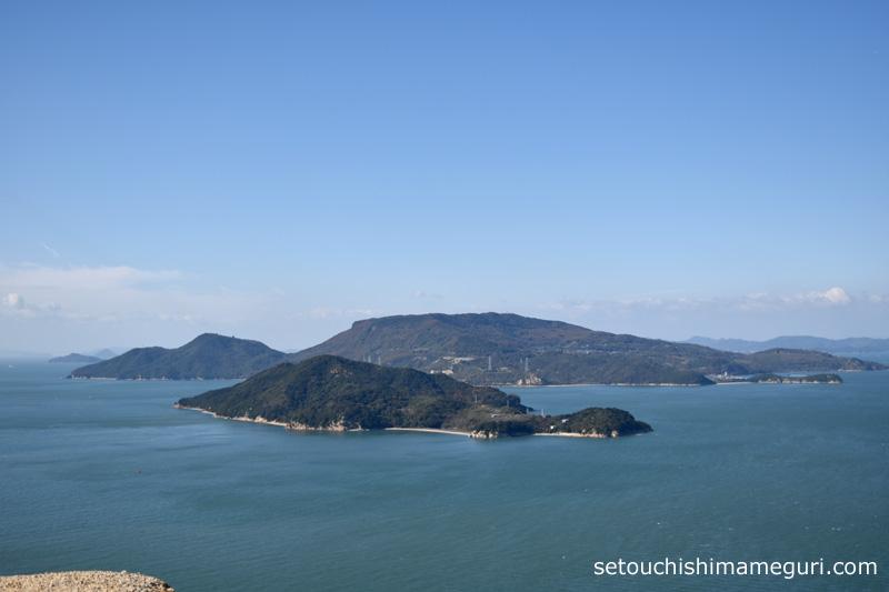 小豆島 重岩(かさねいわ)からの眺め