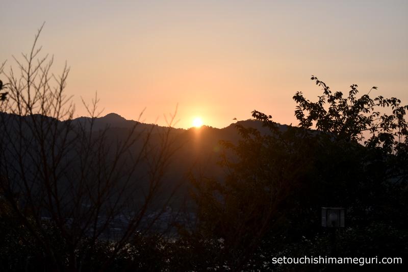 国民宿舎 小豆島 公共の宿ふるさと荘のお部屋からの眺め
