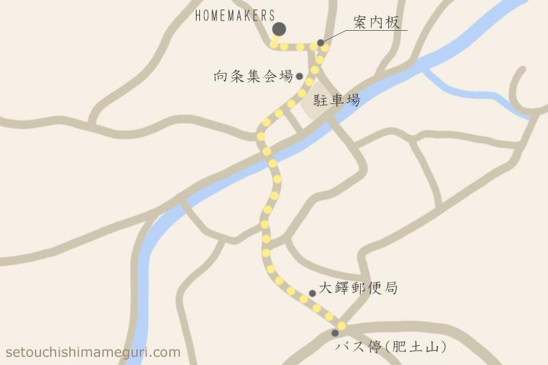 HOMEMAKERSの周辺地図