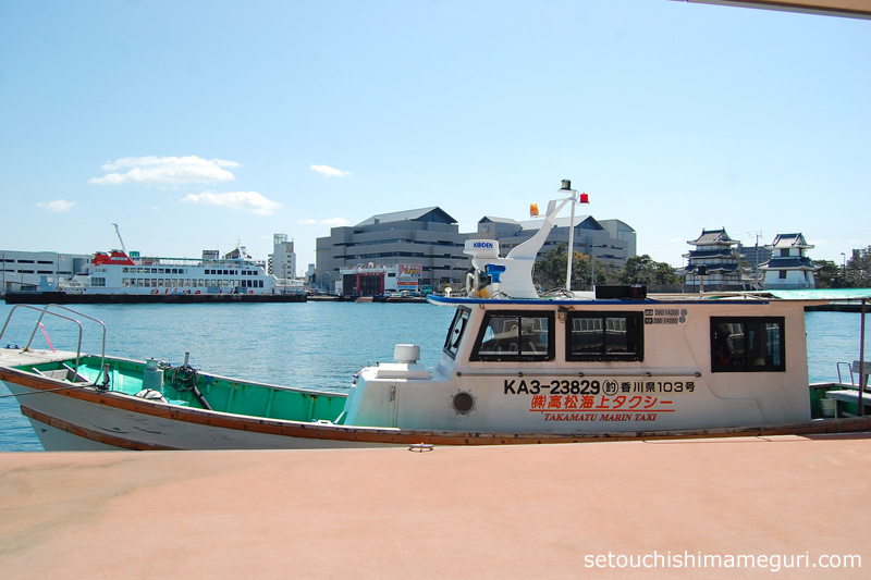 瀬戸内国際芸術祭2016 大島行チャーター船