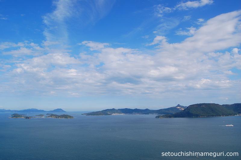 鷲ヶ峰大展望台(わしがみねてんぼうだい)からの眺め