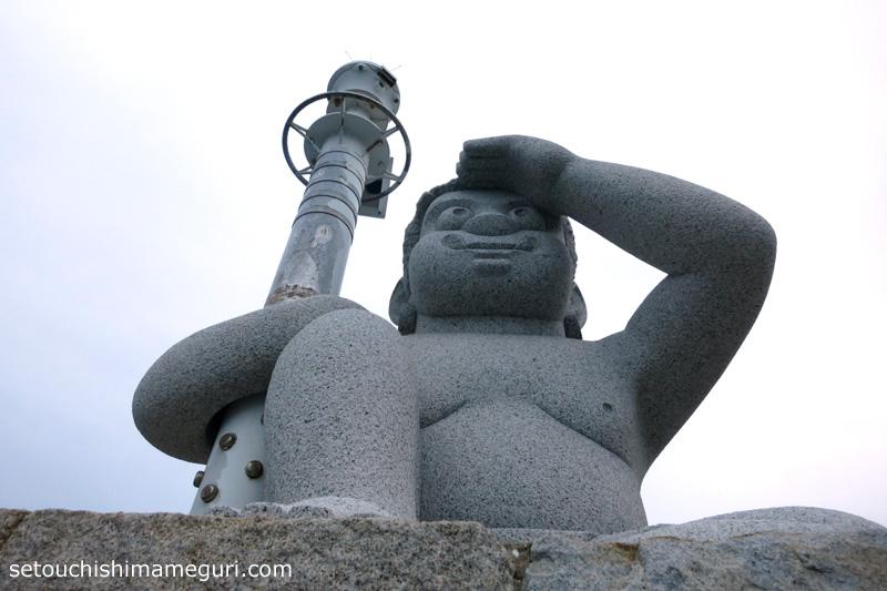 女木島 おにの灯台