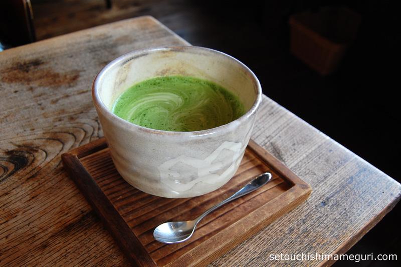 cafe salon 中奥(カフェサロン中奥) 抹茶ラテ