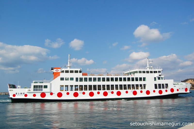 高松、直島を結ぶフェリー「なおしま」、2015年就航