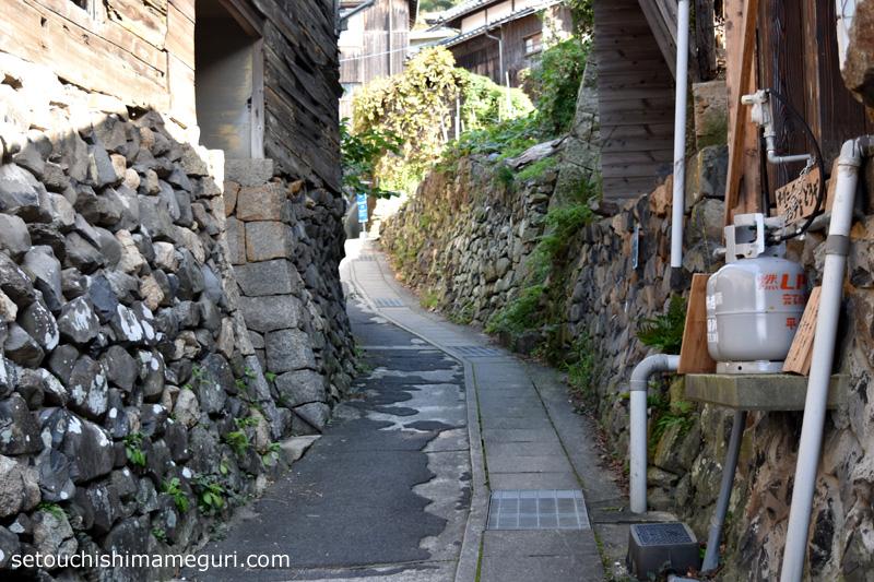 男木島の路地