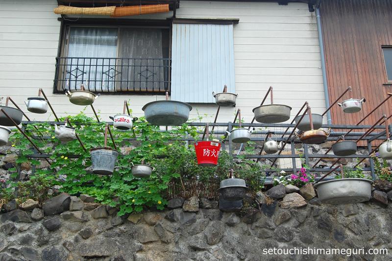 男木島【雨の路地】谷山恭子