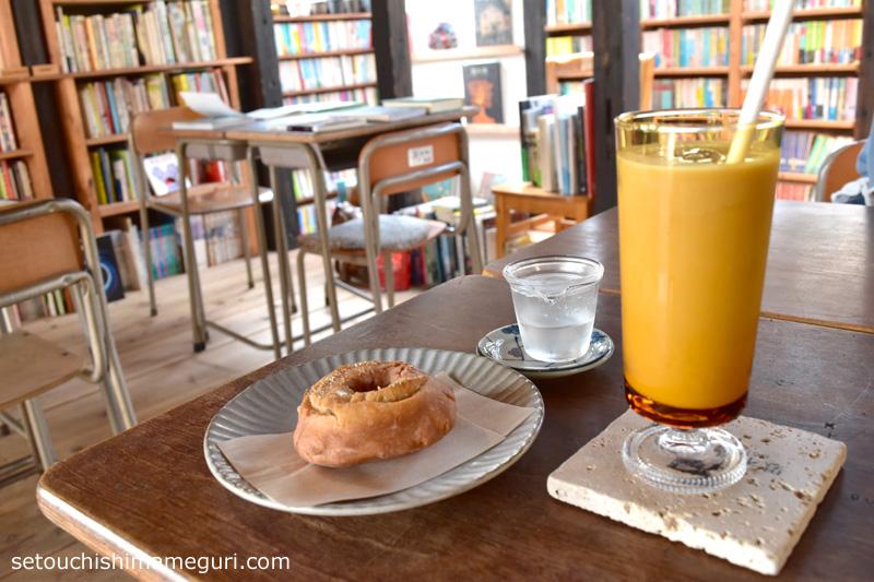 オギケノヒのコーヒーとドーナツ