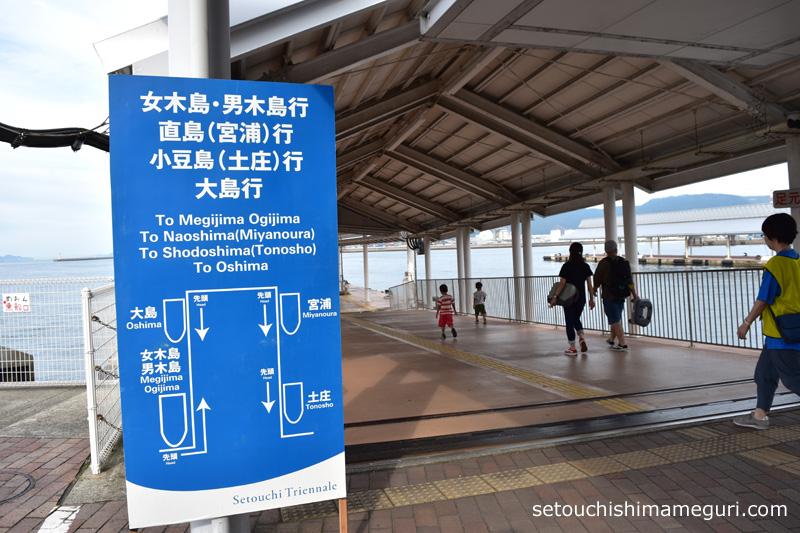 高松港 第1浮桟橋