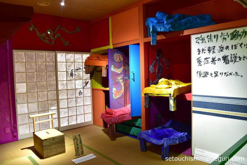 大島【「Nさんの人生・大島七十年」-木製便器の部屋-】田島征三