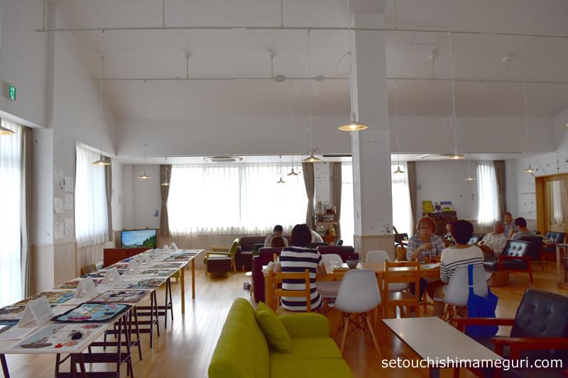 大島 【{つながりの家}カフェ・シヨル(cafe SHIYORU)】やさしい美術プロジェクト