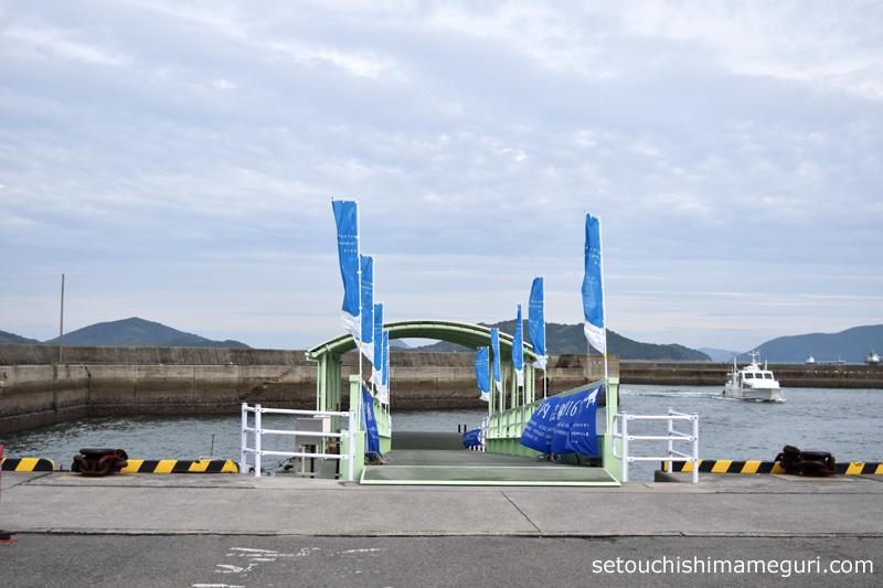 須田港の桟橋