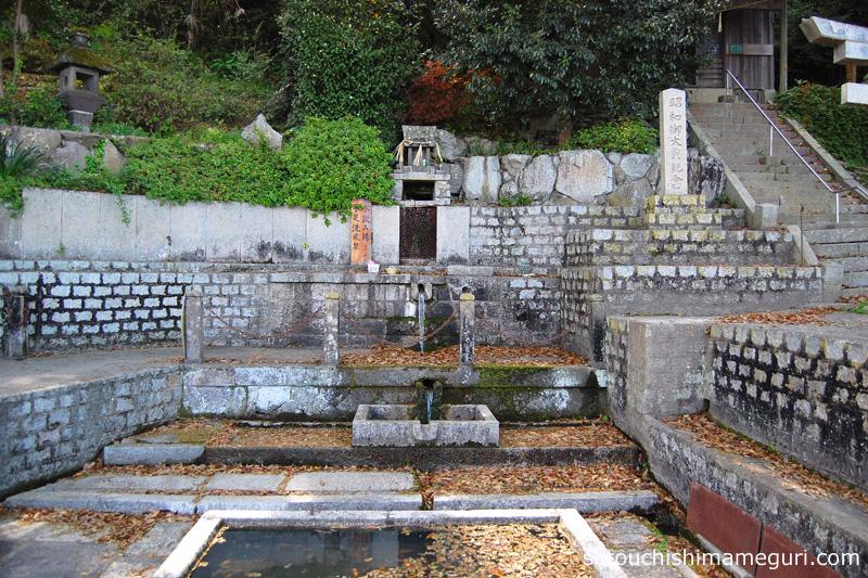 豊島 唐櫃の清水